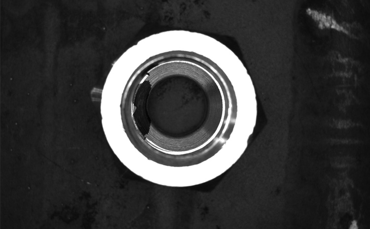 金属表面检测机器视觉光源应用案例